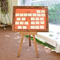 Table Plan Easel