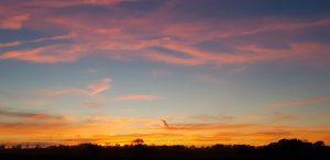 Sunset in Somerset